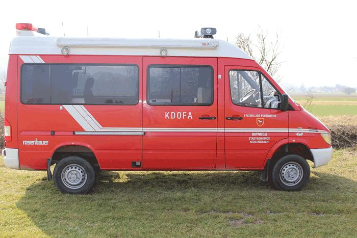 Kommandofahrzeug der Freiwilligen Feuerwehr Inprugg
