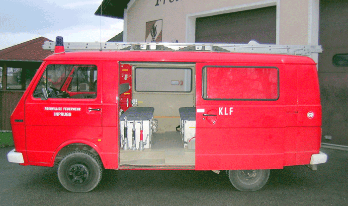 Kleinlöschfahrzeug der Freiwilligen Feuerwehr Inprugg