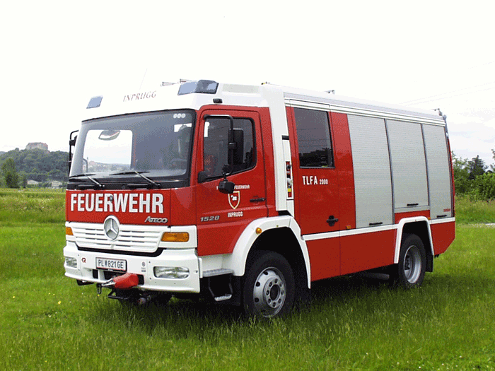 Tanklöschfahrzeug der Frewilligen Feuerwehr Inprugg
